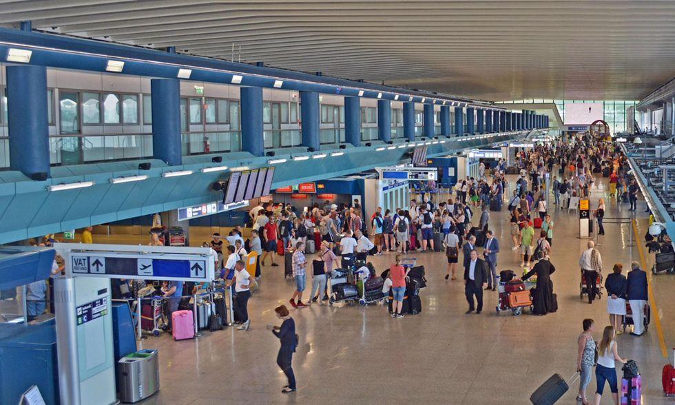 L'aeroporto Leonardo Da Vinci di Fiumicino