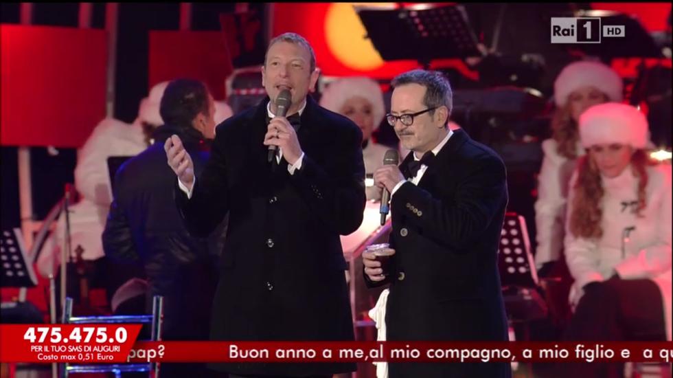 L'anno che verrà 2015 Amadeus Rocco Papaleo