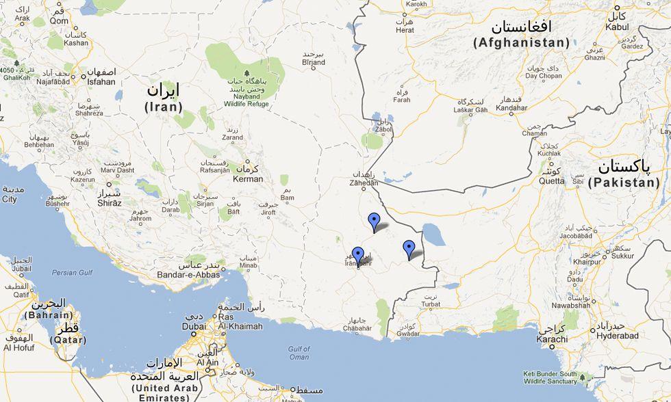 Terremoto in Iran, le prime immagini