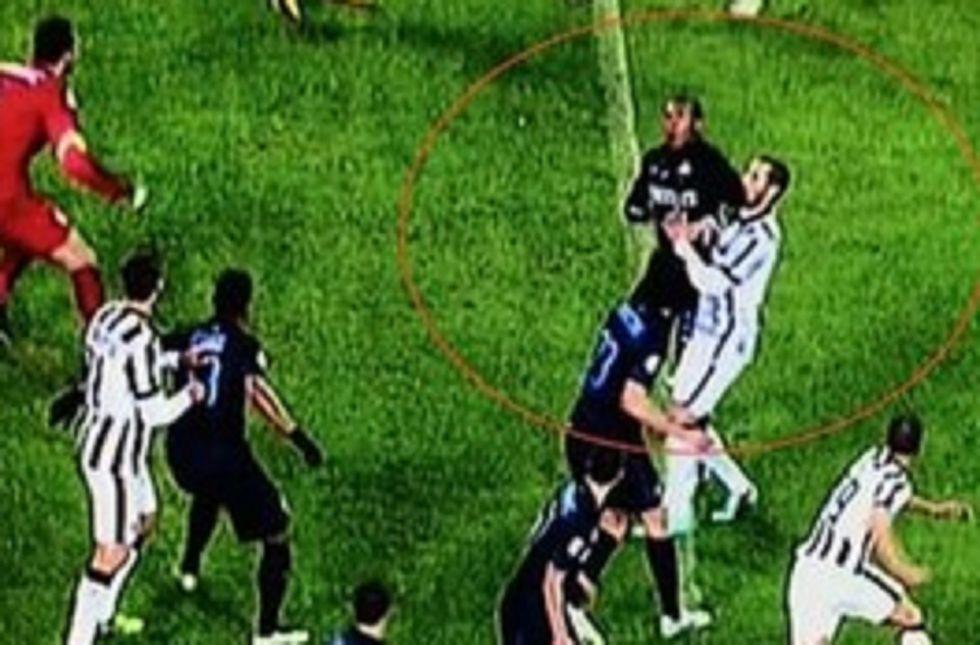 Juventus - Inter 1-1, la moviola in diretta
