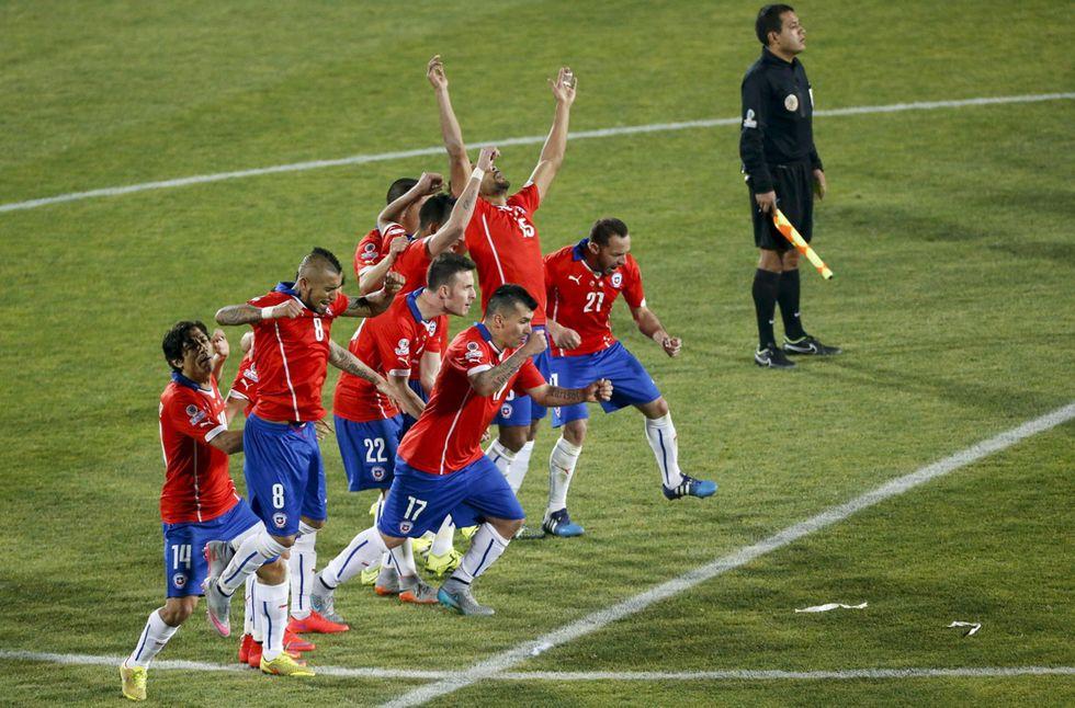 Copa America al Cile, Argentina ko ai rigori