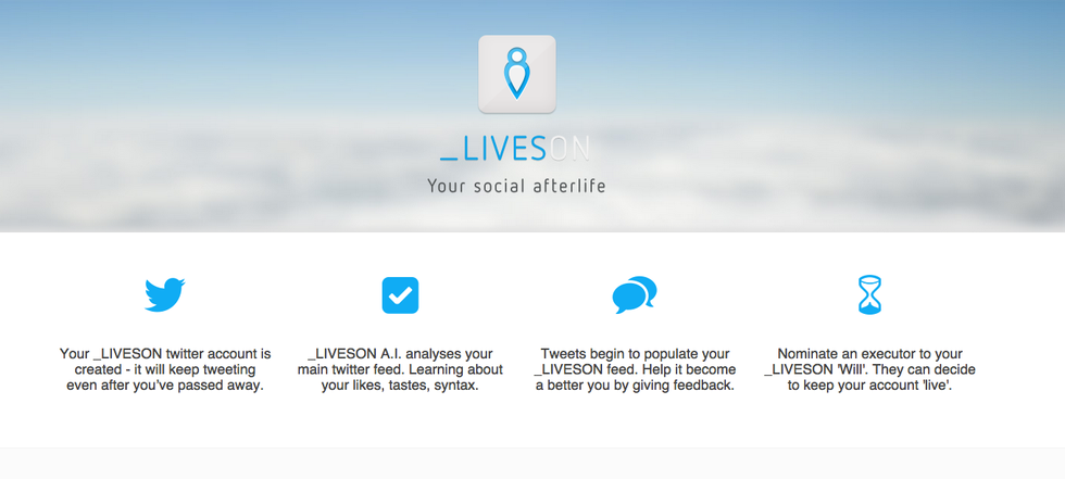 LivesOn, il social network dei defunti