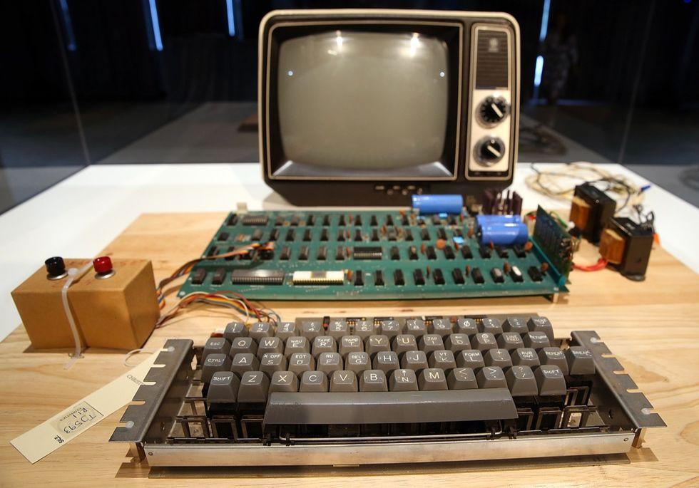 Usa: butta un rarissimo computer Apple