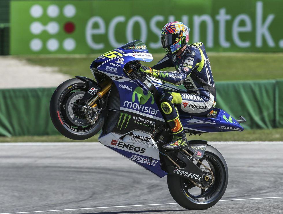 Valentino Rossi vince a Misano