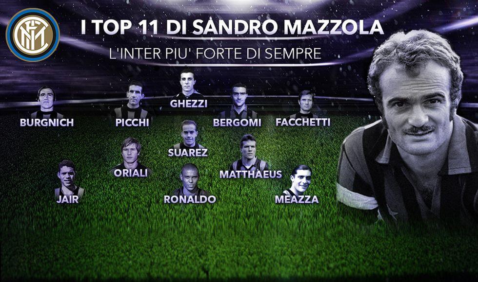 Sandro Mazzola: ecco la mia Inter ideale