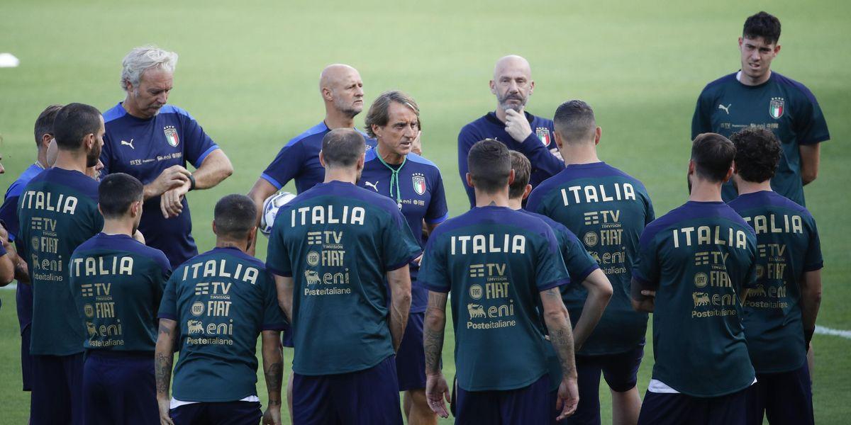 mancini italia nazionale europeo 2020 qualificazione mondiale 2022 polemiche infortuni