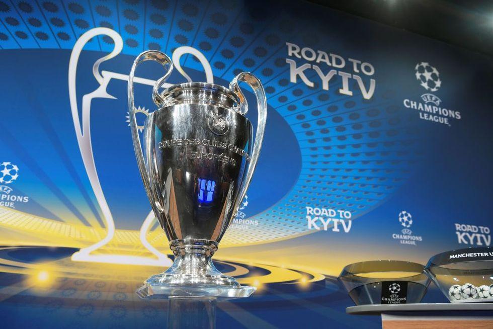 champions league trofeo kiev avversarie juventus roma