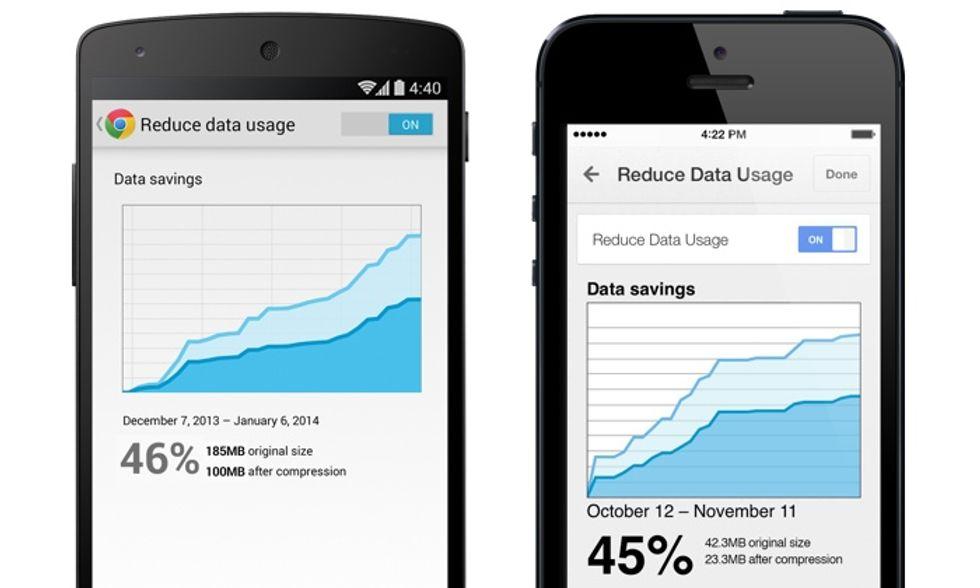 Google Chrome: ecco come risparmiare dati navigando da smartphone