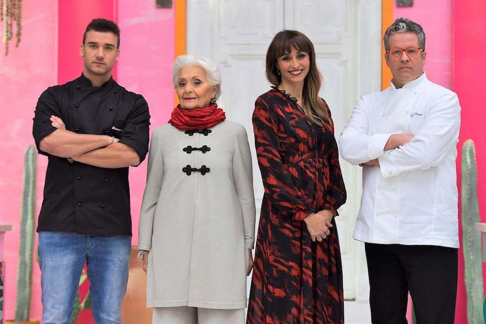 Bake Off 2017 Damiano Carrara, Clelia d'Onofrio, Benedetta Parodi, Ernst Knam