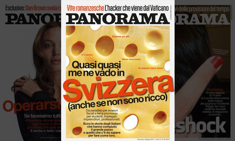 Panorama: 'Quasi quasi vado in Svizzera'