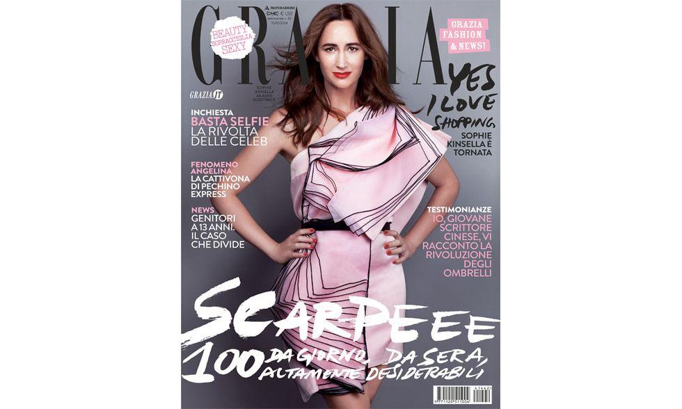 Sophie Kinsella per la copertina di Grazia