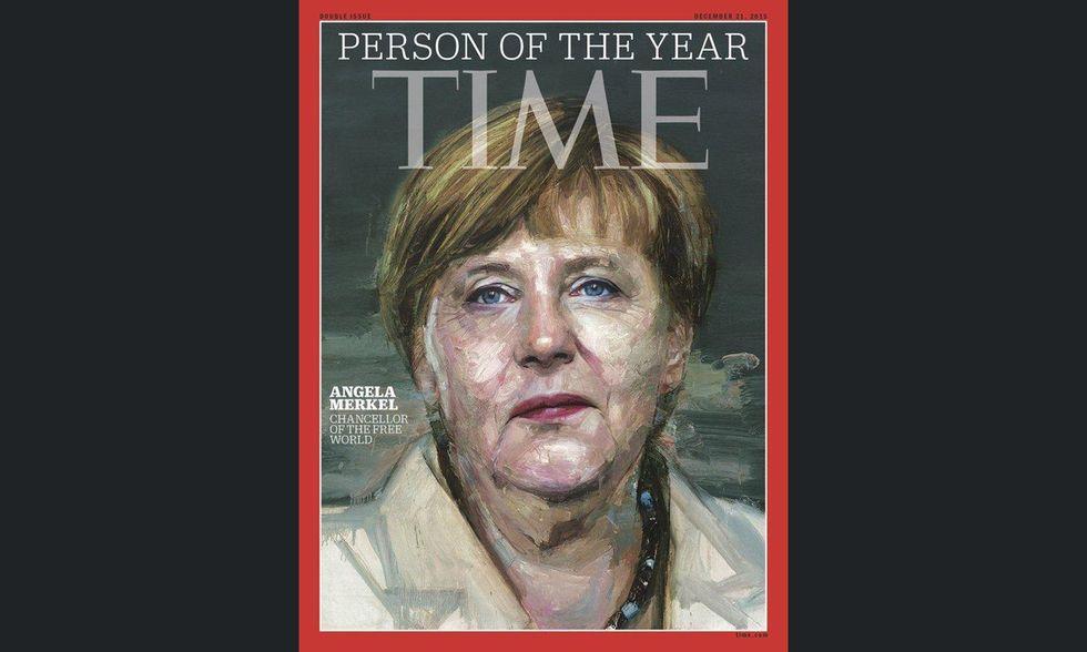 Angela Merkel Personaggio dell'anno 2015