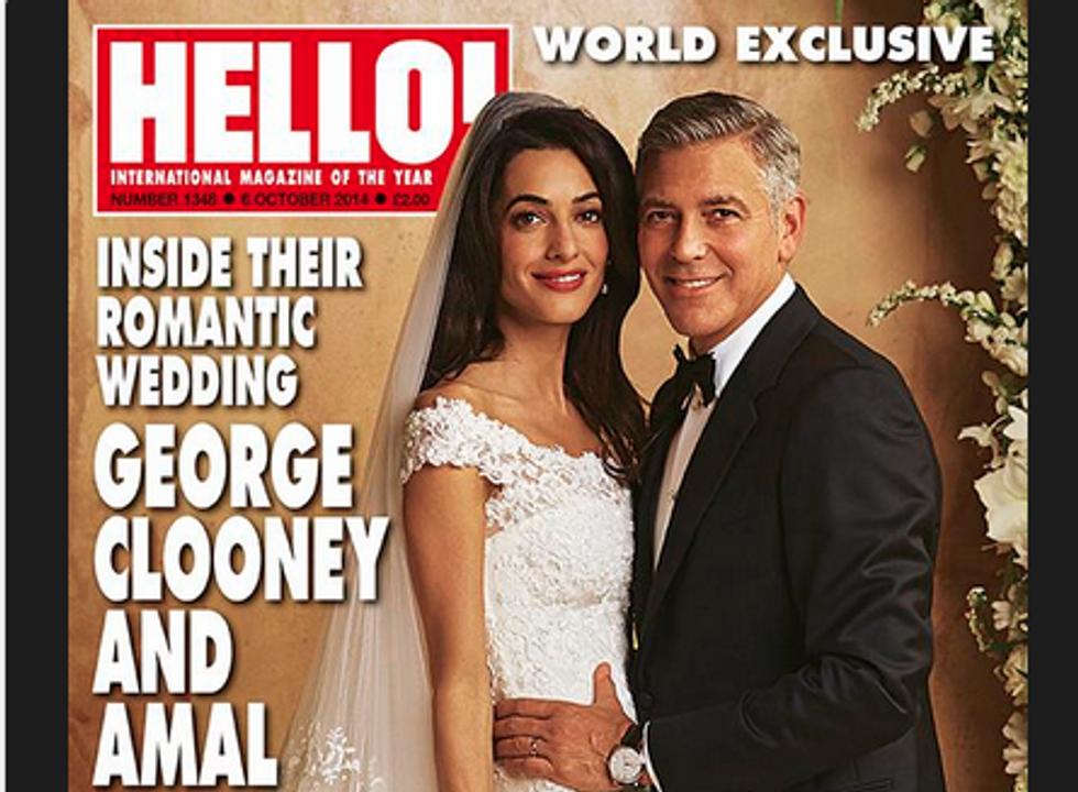 George Clooney e Amal Alamuddin: ecco l'abito della sposa
