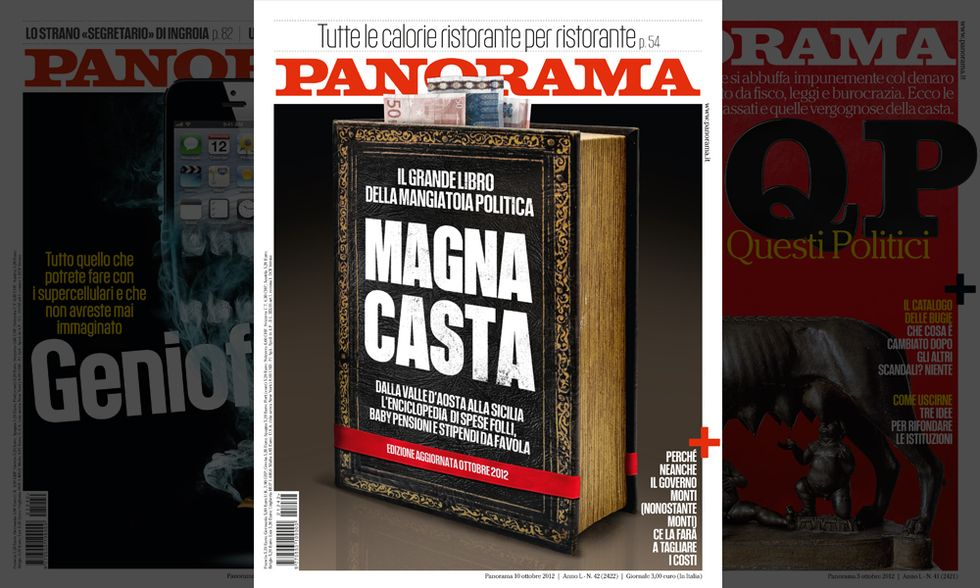 "Inchiesta Panorama - ""Magna Casta"" - Nord"