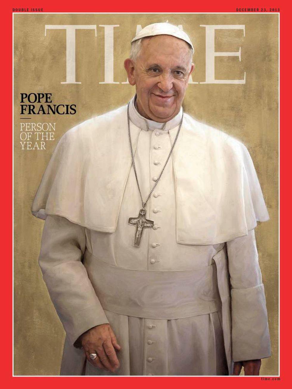 Papa Francesco è l'uomo dell'anno per Time
