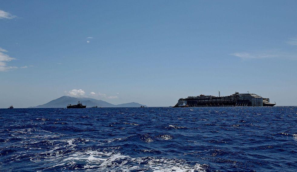 Costa Concordia: il viaggio in tempo reale