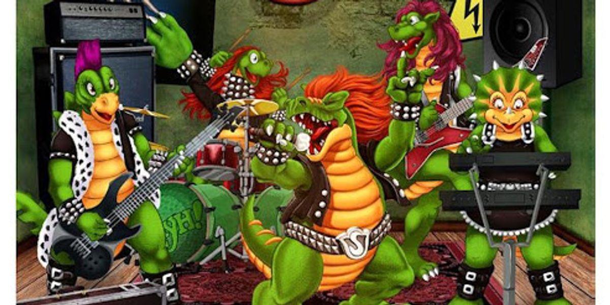 Hevisaurus: dinosauri metal per bambini