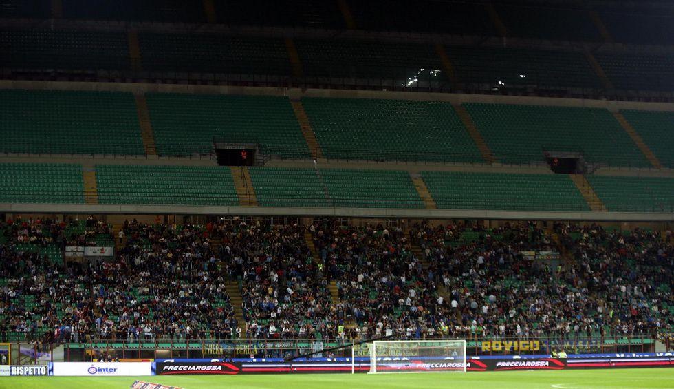 Chiusa la curva dell'Inter. Diamola ai bambini