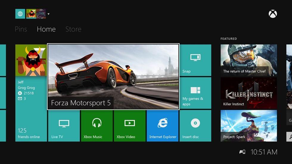 Xbox One, ecco cosa cambia con l'aggiornamento