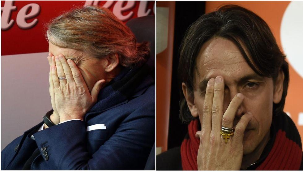 La resa di Mancini e Inzaghi: quando Milano consuma i suoi tecnici