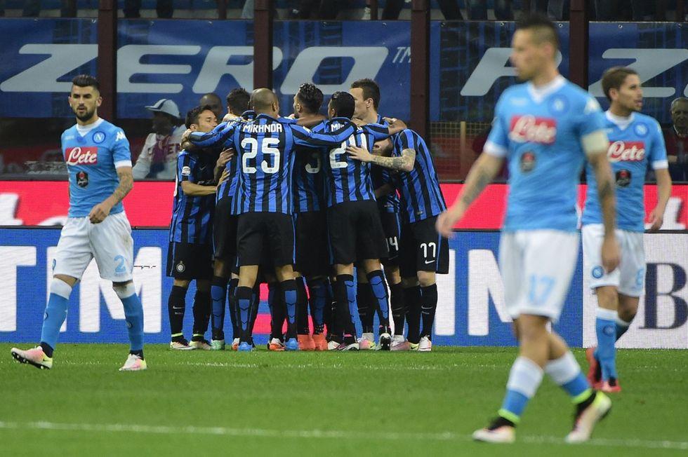 Inter - Napoli 2-0, Icardi e Brozovic chiudono il campionato
