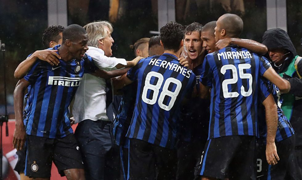 Juventus battuta, l'Inter lancia la sfida