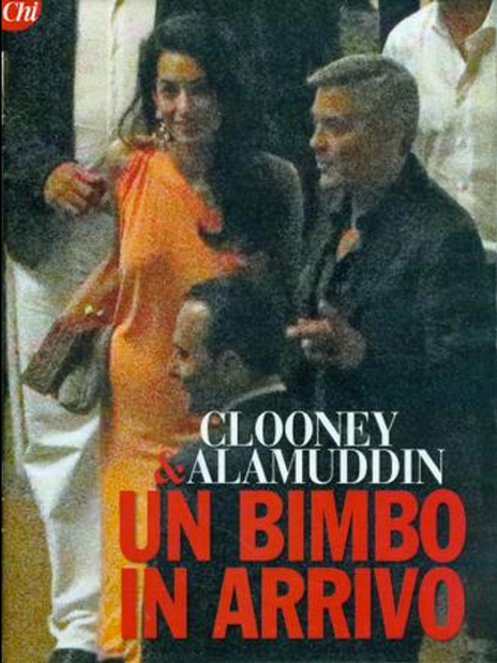 George Clooney presto padre: Amal Alamuddin è incinta