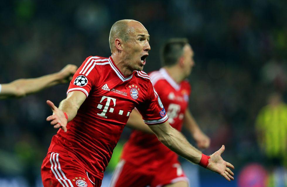 La rivincita di Robben e del Bayern