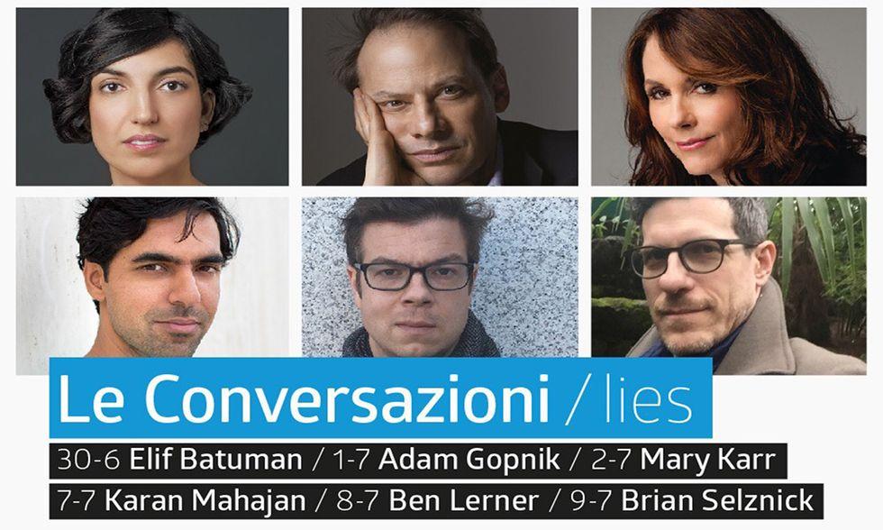 La locandina del festival Le Conversazioni
