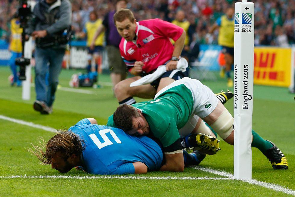 Rugby: la migliore Italia non basta contro l'Irlanda