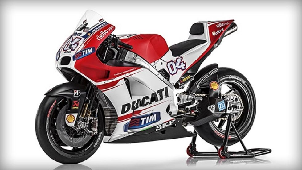 Ducati: presentata la nuova GP15