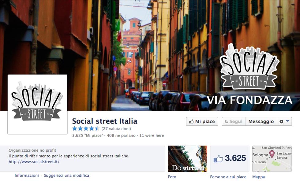 """A Bologna nasce la """"Social Street"""""""