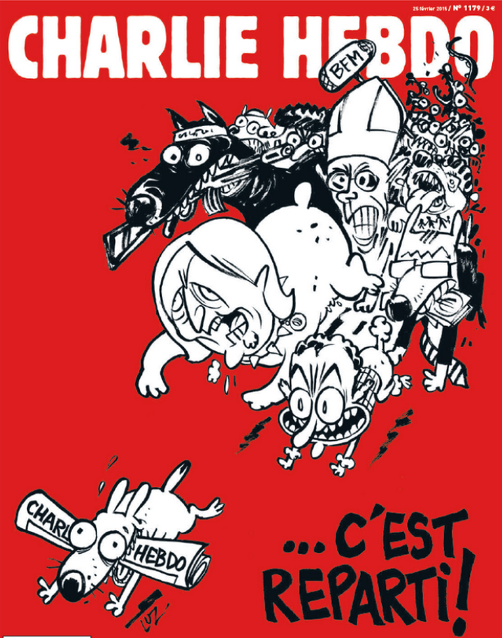 Charlie Hebdo, si ricomincia!