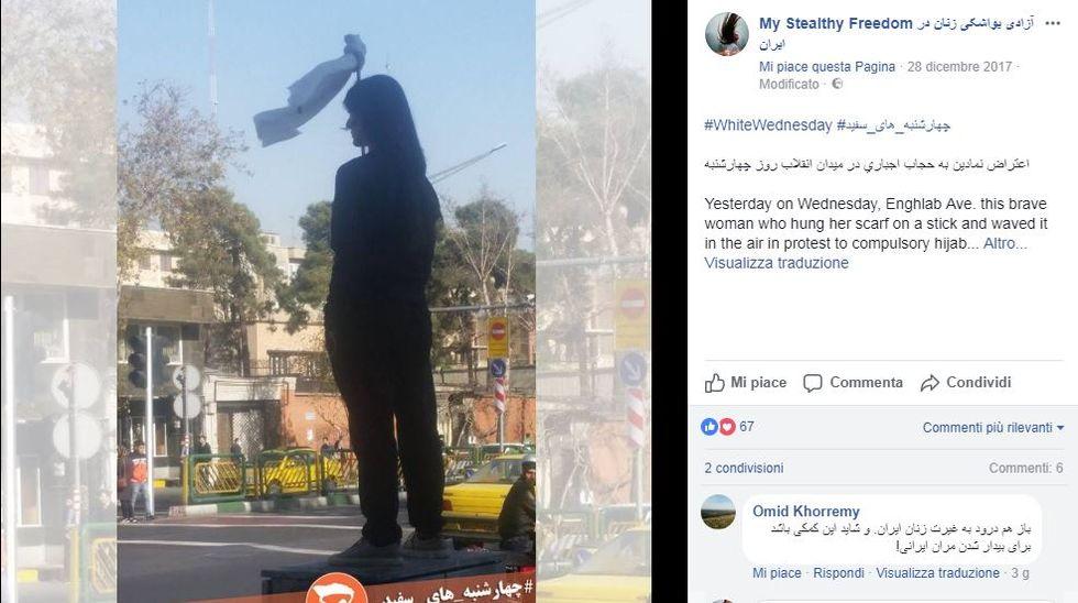 La ragazza iraniana simbolo della protesta delle donne è stata arrestata