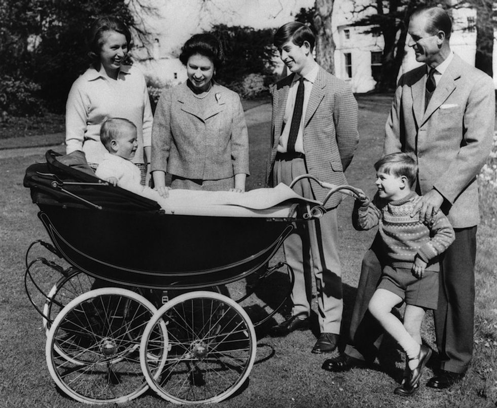 Royal baby, la grande famiglia della monarchia inglese