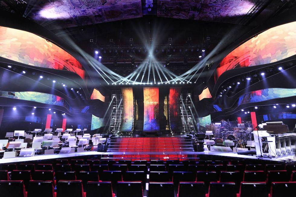 Sanremo 2015: ecco la scenografia del Festival