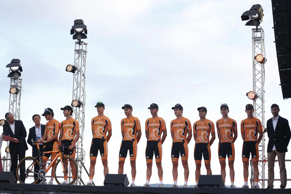Addio all'Euskaltel-Euskadi. E al ciclismo indipendente