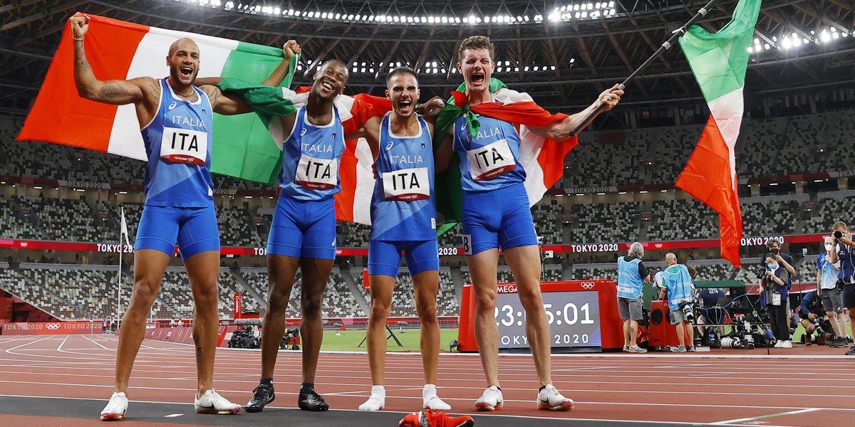olimpiadi tokyo 2020 staffetta italia medagliere medaglie gare da seguire