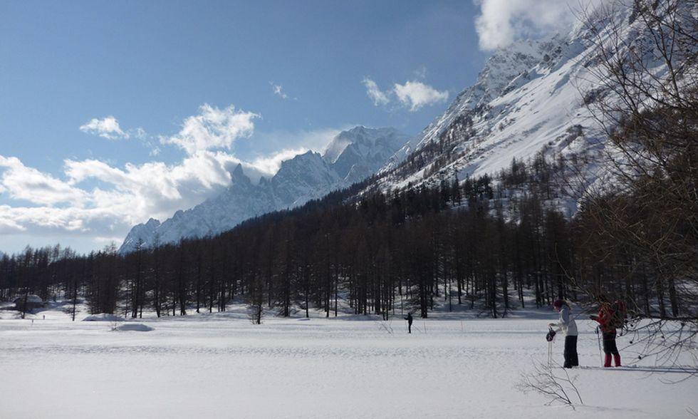 Sci di fondo per tutti: la Val Ferret