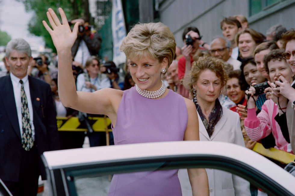 Lady Diana in visita in Australia nel 1996