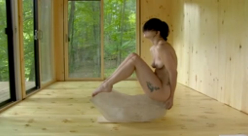 Lady Gaga nuda per Marina Abramovic
