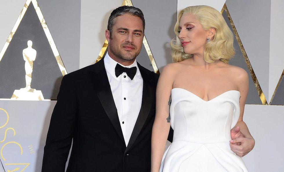 Lady Gaga Taylor Kinney Oscar 2016