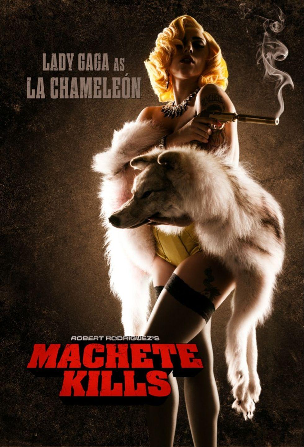 Lady Gaga attrice in Machete kills