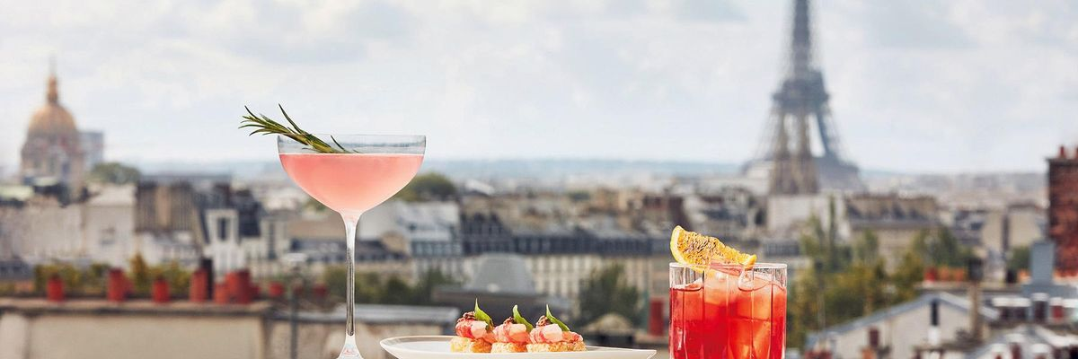 Langosteria Parigi, hotel Cheval Blanc