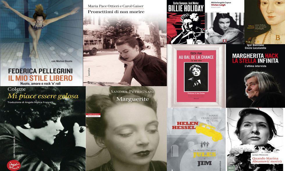 10 libri (+ 1 graphic novel) per leggere le biografie di grandi donne. Chi vorresti essere?