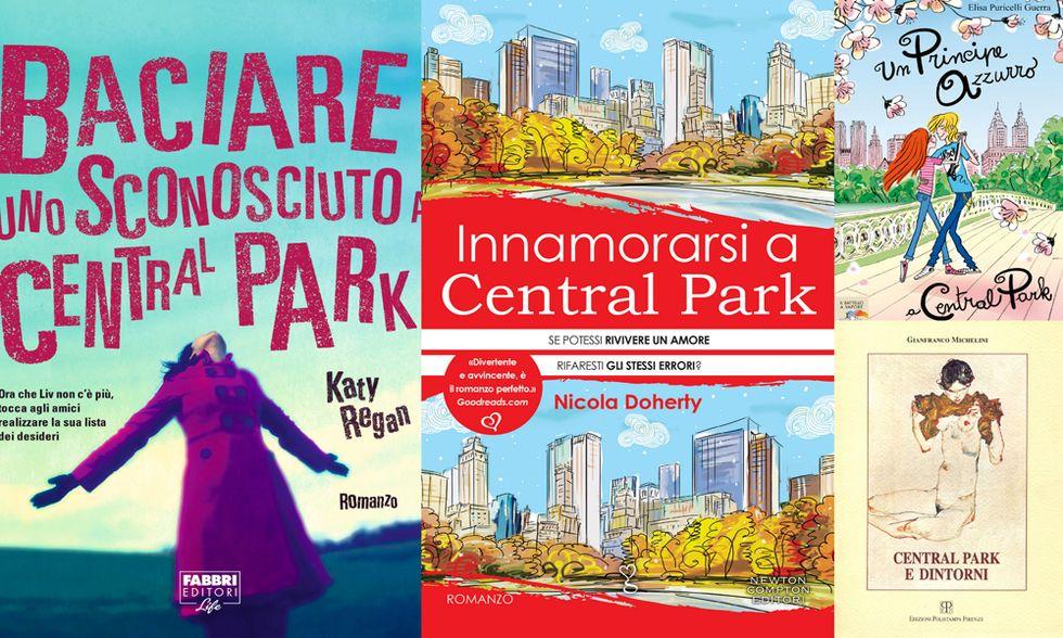 New York, 4 libri a Central Park e un regalo