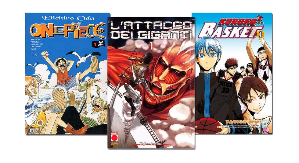 I 10 manga più belli del 2013