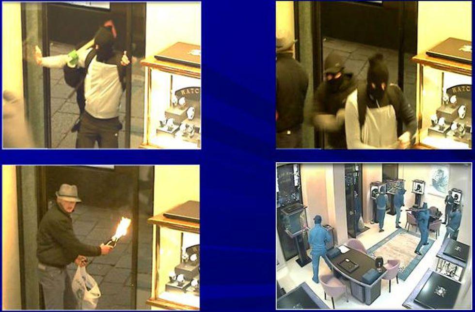 La banda romena che assaltava le gioiellerie