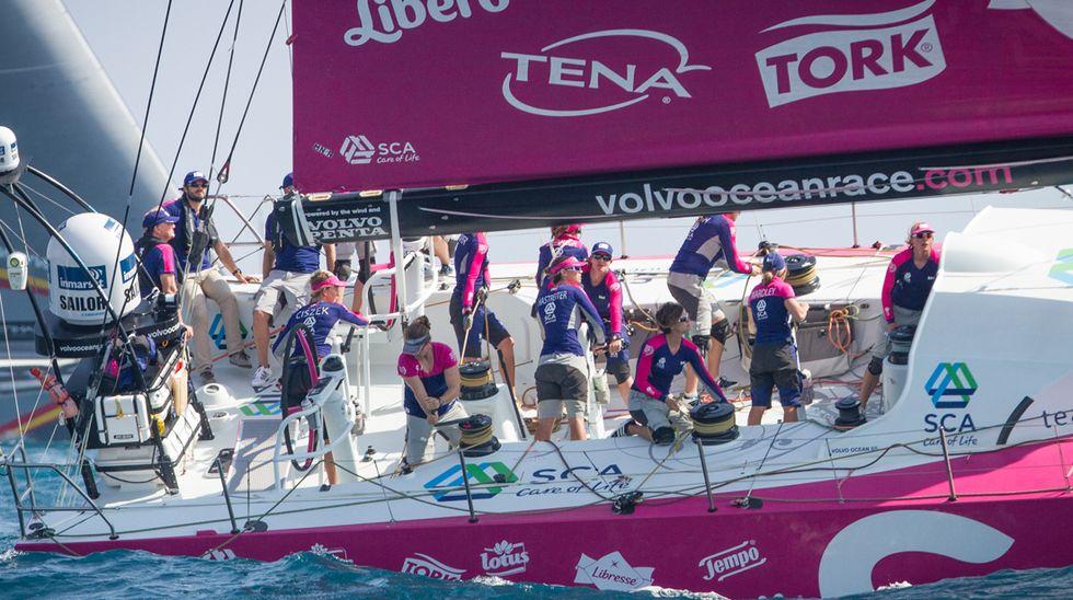 Vela, Volvo Ocean Race: ecco le donne del Team Sca – Video