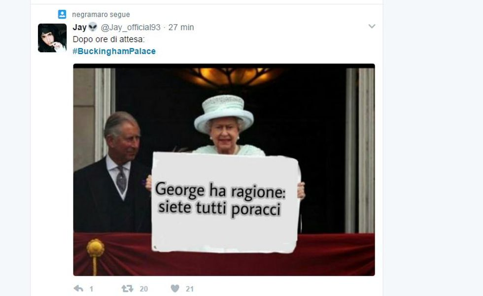 Le reazioni social all'annuncio di Buckingham Palace